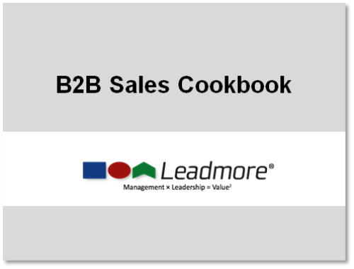 b2b sales cookbook